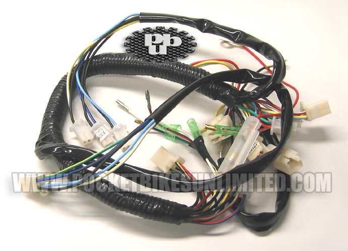 4 stroke wiring harness stroke pocket bike parts x1 pocket bike wiring diagram at aneh.co