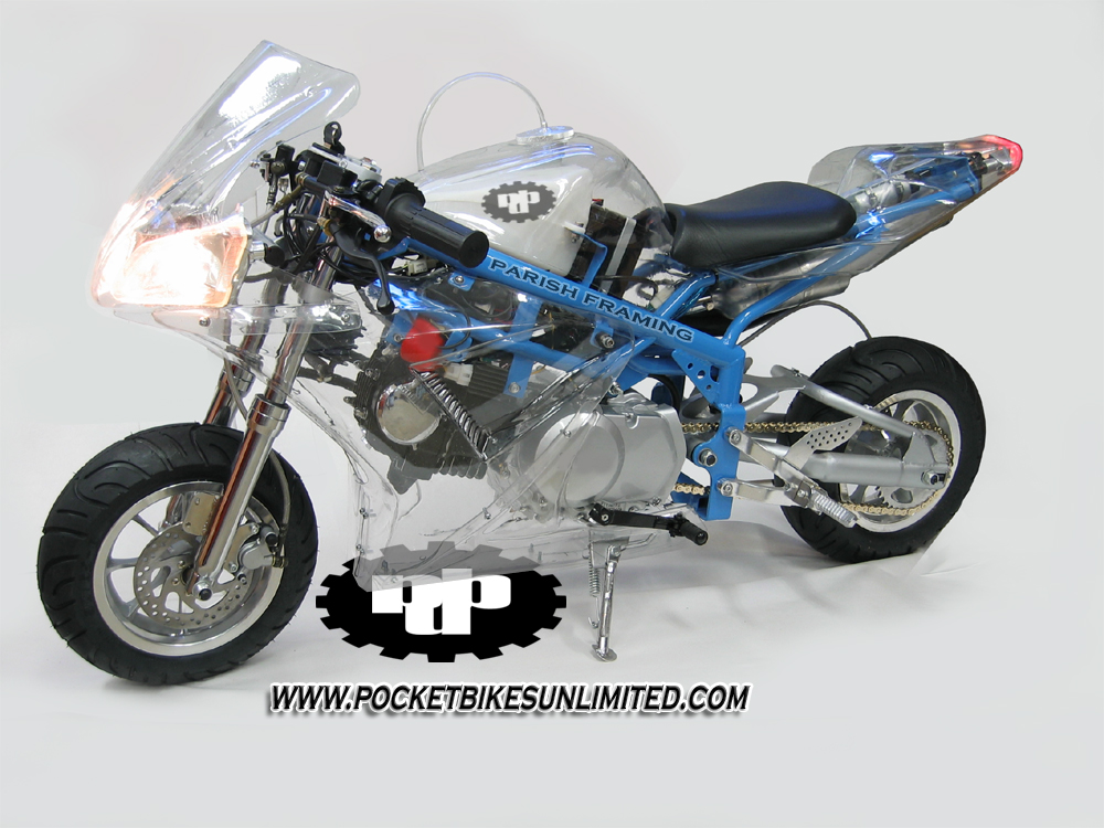 X7 R6 Custom Pocket Bike