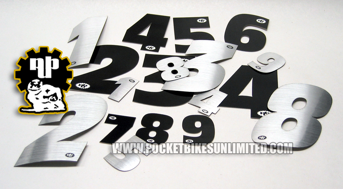 Pocket bike decals pocket bike stickers