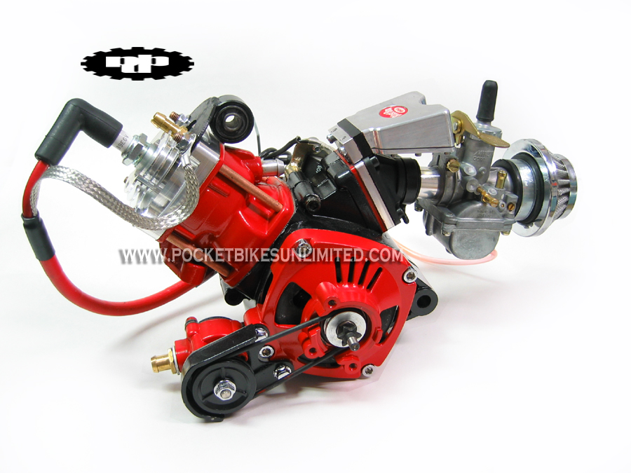 Water Cooled Pocket Bike Motors