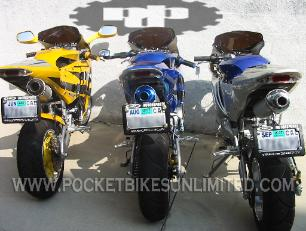 STREET LEGAL POCKET BIKES | STREET LEGAL SUPER POCKET BIKES